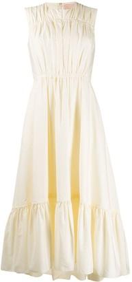 Roksanda Ruffled Midi Dress