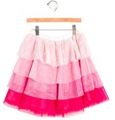 Kate Spade Girls' Tulle Glitter-Accented Skirt w/ Tags