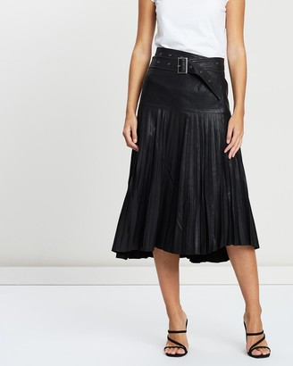 West 14th Park Avenue Pleat Skirt