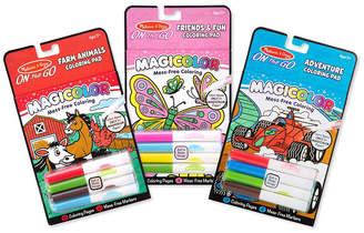 Melissa & Doug Magicolor Coloring Pad Bundle - Farm, Games, Adventure, Friendship & Fun