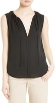 Theory Women's Alamay Silk Georgette Top
