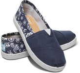 Toms Navy Peace N' Bikes Youth Classics