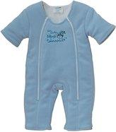 Baby Merlin's Magic Sleepsuit Microfleece - Blue - 6-9 mo
