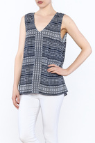 Tommy Bahama Greek Grid Tank