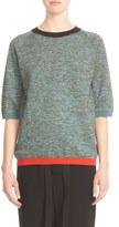 Marni Women's Contrast Trim Wool Blend Sweater