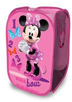 Disney Minnie Mouse Pop Up Hamper Girls Laundry Organizer Bin New