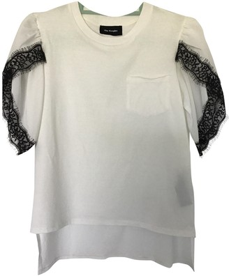 The Kooples White Cotton Top for Women