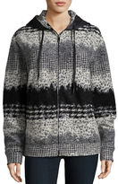 Plac Patterned Wool Blend Jacket