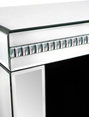 Orion Mirrored Lamp Table