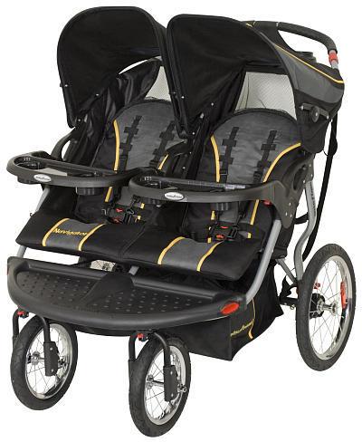 Baby Trend Navigator Double Jogger Stroller - Sonic