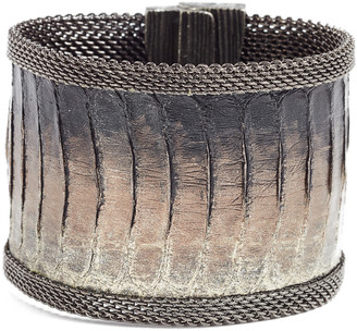 Cynthia Desser Snakeskin Bracelet