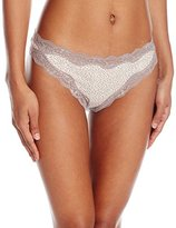 Calvin Klein Women's Cotton Thong Panty