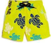 Vilebrequin Boys' Jam Multicolored Turtle Print Swim Trunks - Big Kid