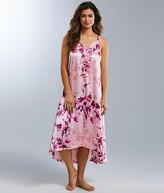 Oscar de la Renta Floral Charmeuse Gown - Women's