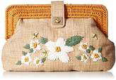 Betsey Johnson Daisy'D and Confused Flower Clutch Crossbody