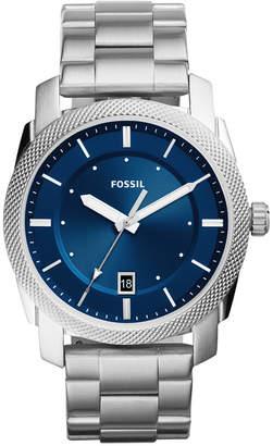 Fossil Men Machine Stainless Steel Bracelet Watch 42mm FS5340