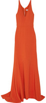 Narciso Rodriguez Stretch-crepe Gown - Bright orange