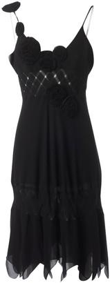 Wunderkind Black Silk Dress for Women