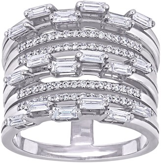 Affinity Diamond Jewelry Affinity 9/10 cttw Diamond Vintage-Inspired Ring, 14K Gold