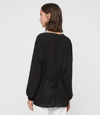 AllSaints Mia Sleeve Top