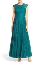 Aidan Mattox Women's Lace Gown