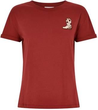 Sandro Applique T-Shirt