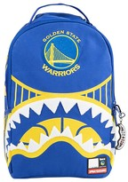 Sprayground Boys' Golden State Warriors Shark Mouth Backpack