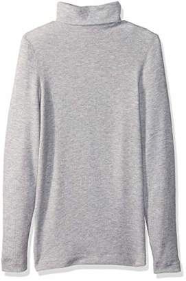 Three Dots Women's QQ2482 Brushed Sweater Turtleneck