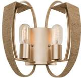 Varaluz Tinali 2 Light Wall Sconce - Gold Dust