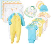 Gerber Duck 19 Piece Gift Set (Baby) - Yellow-Newborn