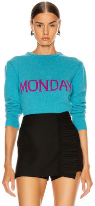 Alberta Ferretti Monday Sweater in Fantasy Blue | FWRD