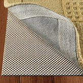 Non Slip Area Rug Pad Size 5 X 8 Extra Strong Grip Thick Padding And High Quality