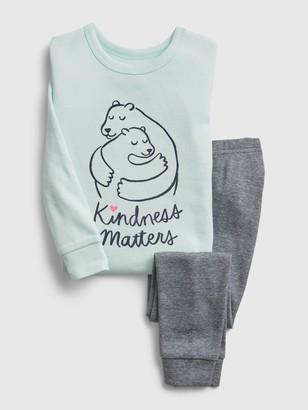 Gap babyGap Kindness Graphic PJ Set