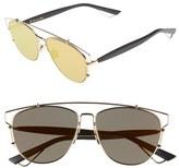 Christian Dior 'Technos' 57mm Sunglasses