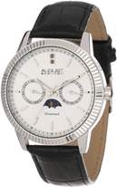 August Steiner Men's AS8051SS Swiss Quartz Multi-Function Diamond Strap Watch