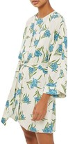 Topshop Women's Botanical Print Short Robe