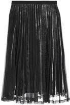 Vila VIDAMIA Aline skirt silver colour