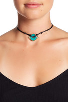 House Of Harlow Rostron Stone Cord Necklace