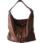Salvatore Ferragamo Brown hobo bag