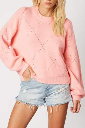 Cotton Candy Crew Neck Sweater