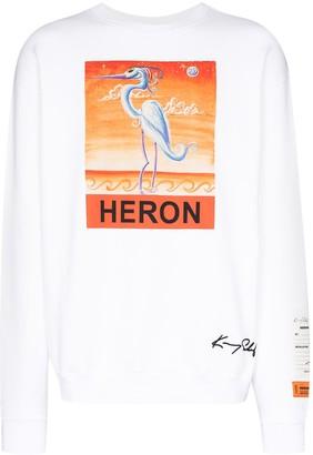 Heron Preston x Kenny Scharf graphic-print sweatshirt