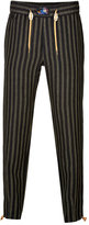 Marc Jacobs Striped Linen Drawstring Pants