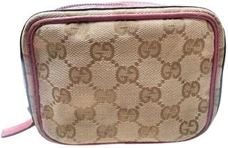 Gucci Grey Cloth Purses, wallets & cases