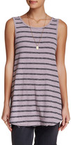 Free People Garden Sleeveless Flared Tank