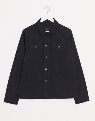 Brave Soul worker jacket in black