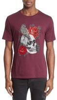 The Kooples Men's Embroidered Skull Graphic T-Shirt