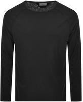 Nudie Jeans Otto Raw Hem T Shirt Black