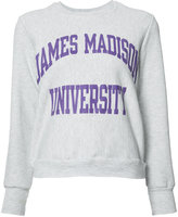 RE/DONE James Madison University sweatshirt - women - Polyester/cotton/other fibers - XS/S