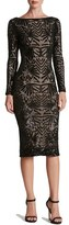 Dress the Population Women's Emery Midi Dress