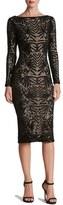 Dress the Population Women's 'Emery' Sequin Midi Dress